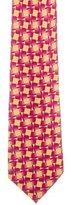 Gucci Silk Top Hat Print Tie