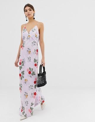 Keepsake Pretty One maxi slip dress