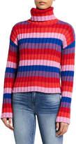 Glamorous Striped Turtleneck Sweater