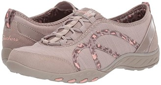 Skechers Breathe-Easy - Missing Lynx (Taupe) Women's Shoes
