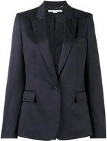 Stella McCartney Ingrid Single Button Blazer - women - Cotton/Viscose/Wool - 38