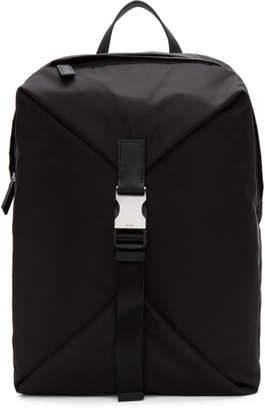 Prada Black Nylon Montagna Backpack