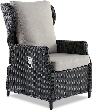 Wisteria Designs Aegean Outdoor Reclining Chair Anthracite