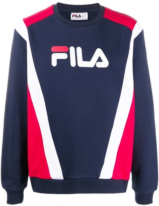 Fila Juda colour block sweatshirt