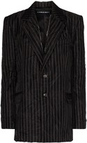 Y/Project Stripe Layer Blazer