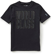 Under Armour Big Boys 8-20 World Class Short-Sleeve Tee