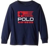 Polo Ralph Lauren Basic Jersey Graphic T-Shirt (Toddler)