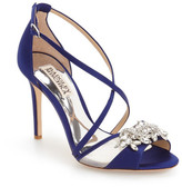 Badgley Mischka &Gala& Crystal Embellished Evening Sandal (Women)