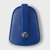 Paul Smith Men's Blue Leather Bell Pouch Keyring