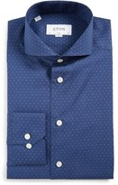 Eton Men's Slim Fit Open Circle Dress Shirt