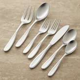 Crate & Barrel Dune 22-Piece Flatware Set