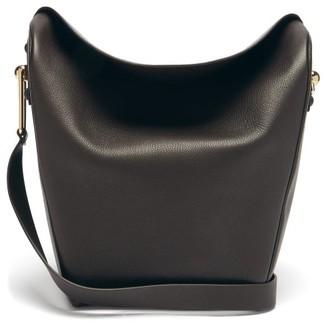 Lemaire Folded Medium Leather Shoulder Bag - Brown