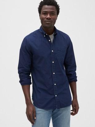 Gap Dot Denim Shirt in Slim Fit