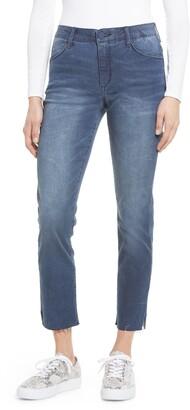 Wit & Wisdom Vintage High Waist Ankle Straight Leg Jeans