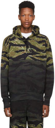 Diesel Green Camo S-Alby-Tigercam Hoodie