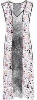 Kenzo Moonmap Printed Silk Dress