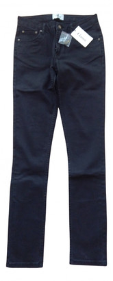 Ganni Black Cotton - elasthane Jeans