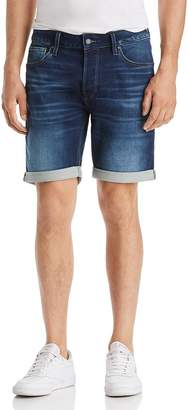 Jack and Jones JACK + JONES Icon Regular Fit Denim Shorts in Blue