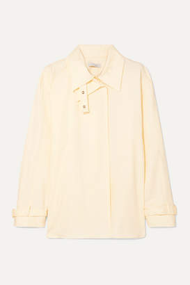 Low Classic Layered Cotton Shirt - Cream