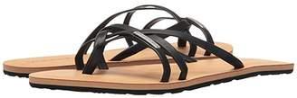 Volcom Lookout (Black) Women's Sandals