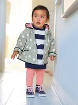 Vertbaudet Baby Stripe & Polka-Dot Knitted Dress