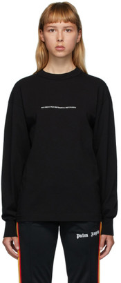 Palm Angels Black Palm x Palm Long Sleeve T-Shirt