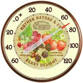 Acu-Rite AcuRite 01844 12.5-Inch Wall Thermometer, Berries