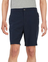 Black Brown 1826 Lightweight Cotton Shorts