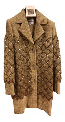 Chanel Gold Glitter Jackets
