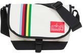 Manhattan Portage Rainbow Stripes Nylon Jr. Messenger Bag