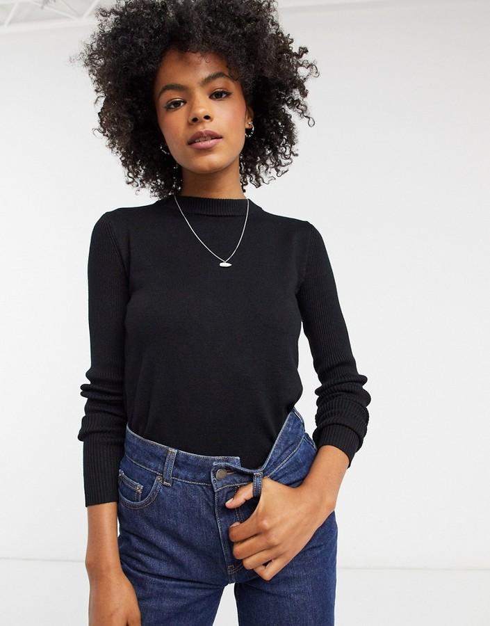 Gianni Feraud crewneck sweater in black