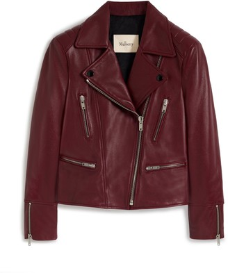 Mulberry Bethany Jacket Black Nappa Leather