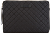 Want Les Essentiels Florio 13' Computer Folio Black Quilt/black