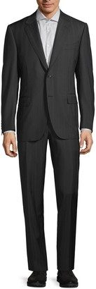 Canali Standard-Fit Striped Wool Suit