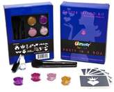 Glimmer Body Art Princess + Hearts Professional Glitter Tattoo Kit by Glimmer Body Art