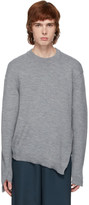 Comme des Garcons Grey Lochaven Of Scotland Edition Crewneck Sweater