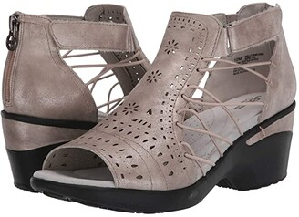 JBU Nelly Encore (Gunmetal) Women's Sandals