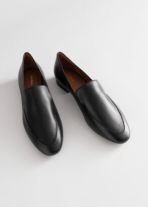 And other stories Smooth Leather Classic Loafers