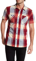 Levi's Gade Short Sleeve Plaid Shirt
