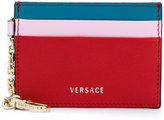 Versace three-tone chain card case