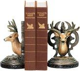 Sterling 91-2035 Composite Pair Deer Head Bookends