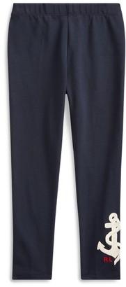 Ralph Lauren Anchor Stretch Jersey Legging