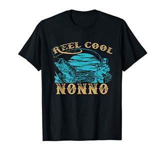Father's Day Gifts TShirt - Fishing Reel Cool Nonno