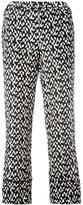Marni printed trousers - women - Silk - 38