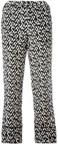 Marni printed trousers - women - Silk - 42