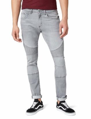 Urban Classics Men's Slim Fit Biker Jeans
