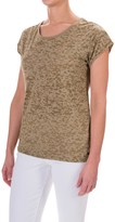 Barbour Abbot Burnout Shirt - Short Sleeve (For Women)