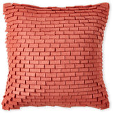 Surya Felt Shingles Pillow