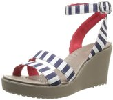 Crocs Women's Leigh Graphic Wedge Sandal