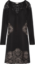 Temperley London Sami laser-cut scuba dress
